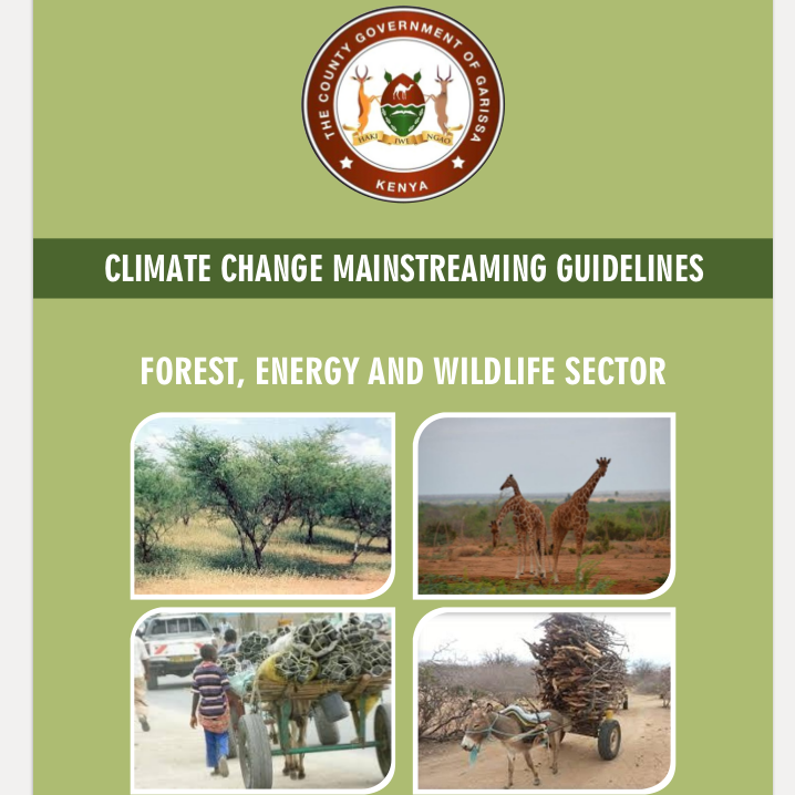 Garissa - Forest, Energy and Wildlife Sector - Climate Change Mainstreaming Guidelines