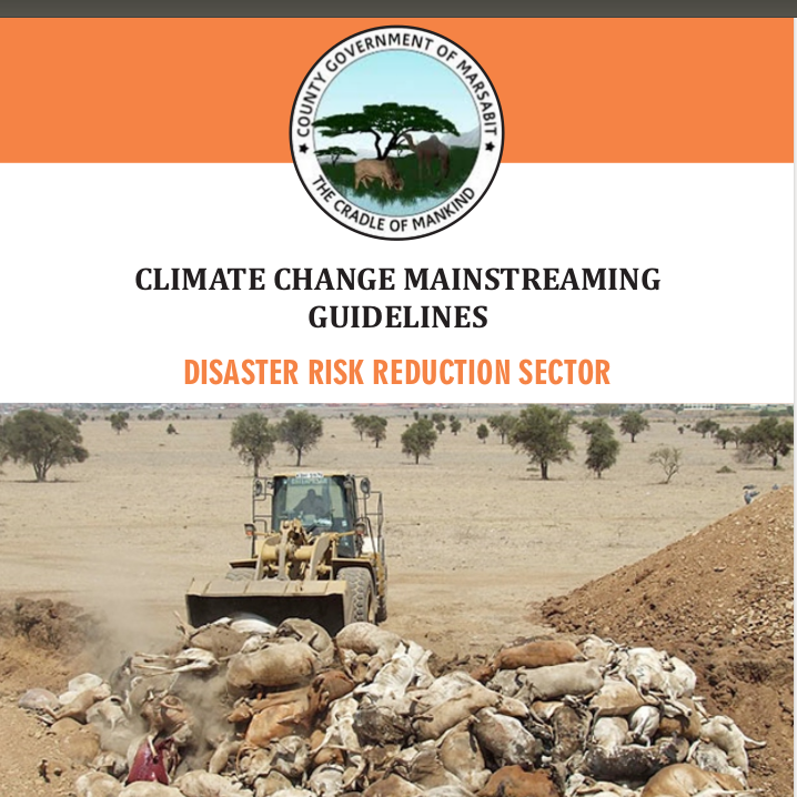 Marsabit - Disaster Risk Reduction Sector - Climate Change Mainstreaming Guidelines