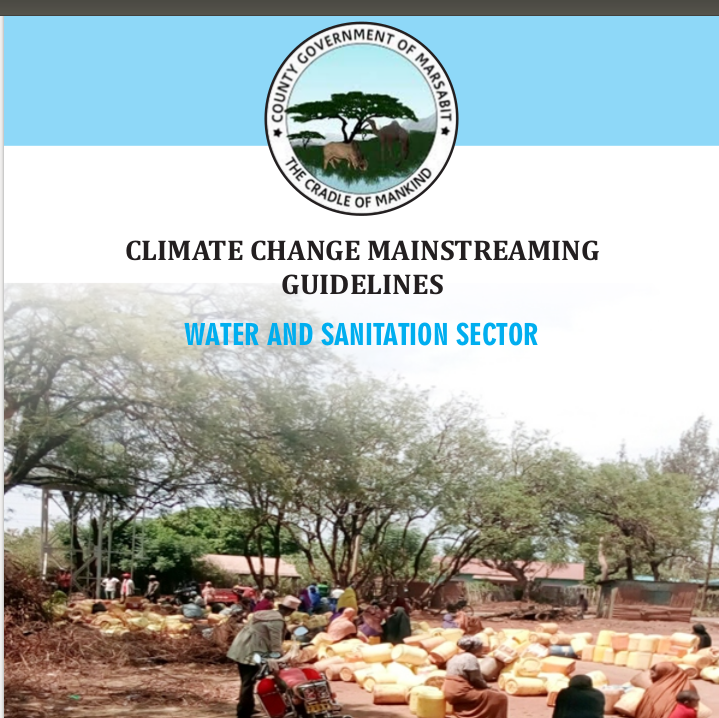 Marsabit - Water and Sanitation Sector - Climate Change Mainstreaming Guidelines